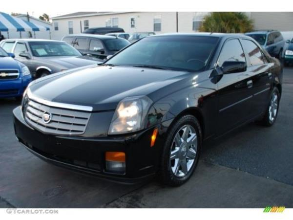 2004 CADILLAC CTS blackblack auto air conditioneralarmamfm radioanti-lock brakescd player