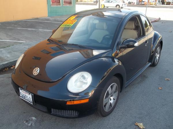 2006 VOLKSWAGEN NEW BEETLE blacktan automatic air conditioneralarmamfm radioanti-lock brake