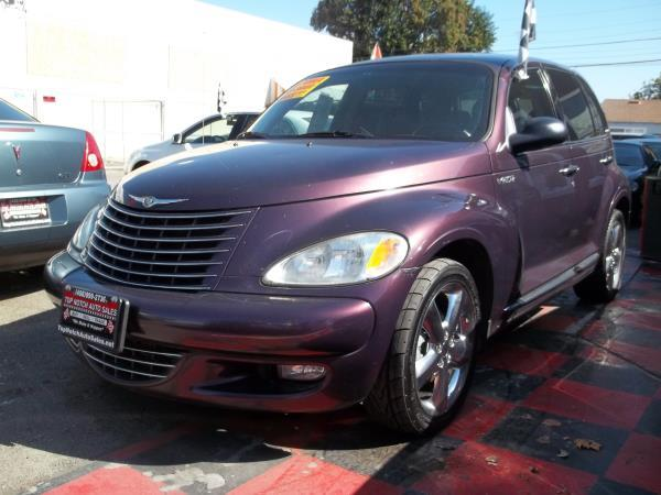 2004 CHRYSLER PT CRUISER purpleblack automatic air conditioneralarmamfm radioanti-lock brak