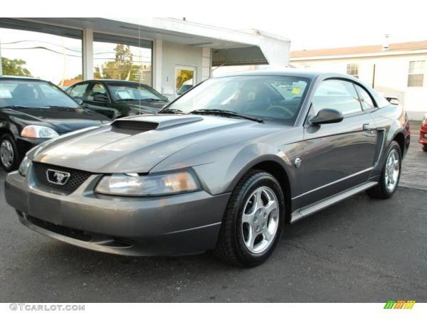 2004 FORD MUSTANG charcoalcharcoal automatic air conditioneralarmamfm radioanti-lock brakes