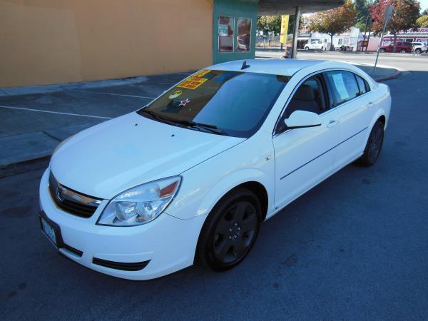 2008 SATURN AURA whiteblack automatic air conditioneralarmamfm radioanti-lock brakescd pla