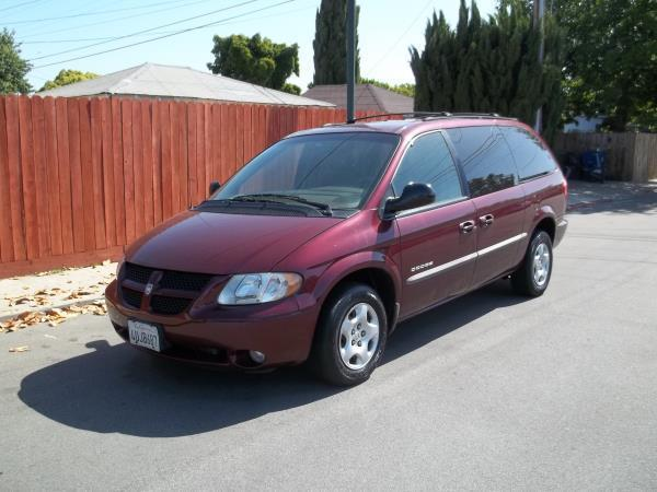 2001 DODGE GRAND CARAVAN burgandytan automatic air conditioneralarmamfm radioanti-lock brak