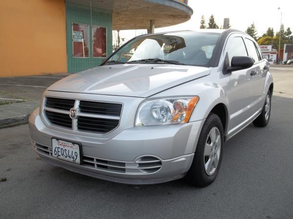 2008 DODGE CALIBER silvercharcoal 5 speed manual air conditioneramfm radiocd playerchild-sa