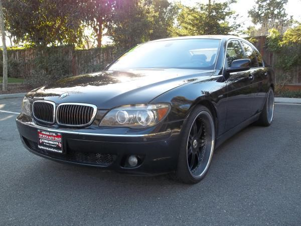 2006 BMW 7 SERIES blackblack automatic air conditioneralarmamfm radioanti-lock brakescasse