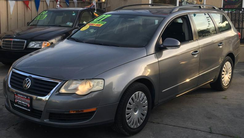 2007 VOLKSWAGEN PASSAT charcoalgray automatic air conditioneralarmamfm radioanti-lock brake