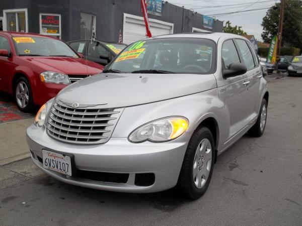 2006 CHRYSLER PT CRUISER silvercharcoal automatic air conditioneramfm radioanti-lock brakes