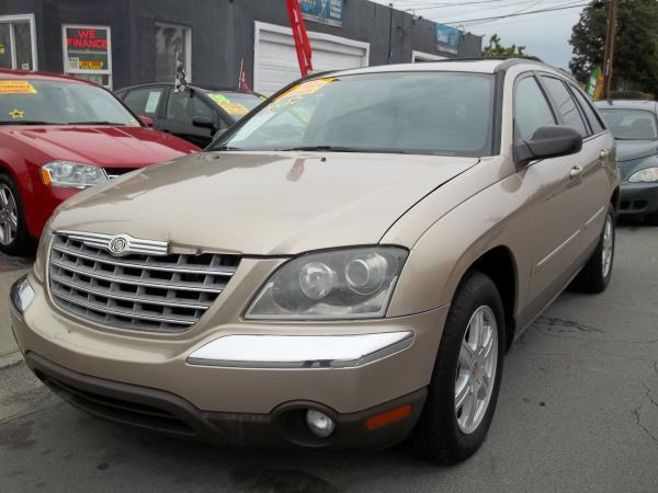 2004 CHRYSLER PACIFICA goldchampain automatic air conditioneralarmamfm radioanti-lock brake