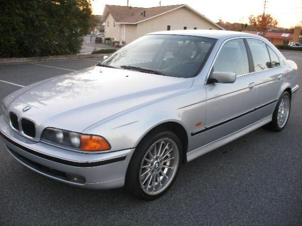 1997 BMW 5SERIES silverblack automatic air conditioneralarmamfm radioanti-lock brakescasse