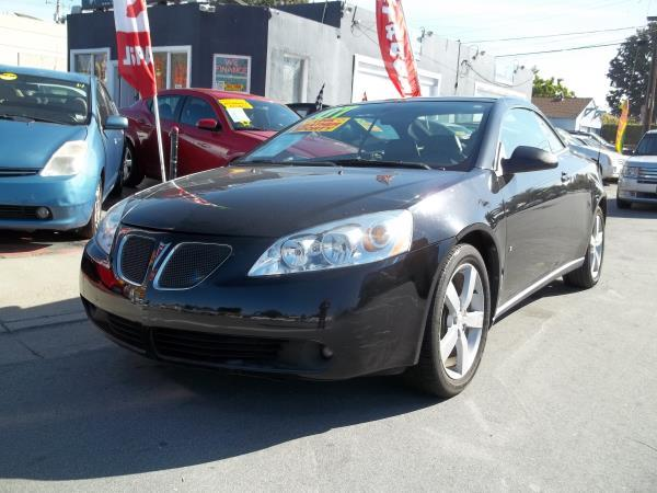 2007 PONTIAC G6 blackblack automatic air conditioneralarmamfm radioanti-lock brakescd play