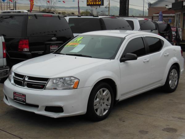 2014 DODGE AVENGER whiteblack automatic air conditioneralarmamfm radioanti-lock brakescd p