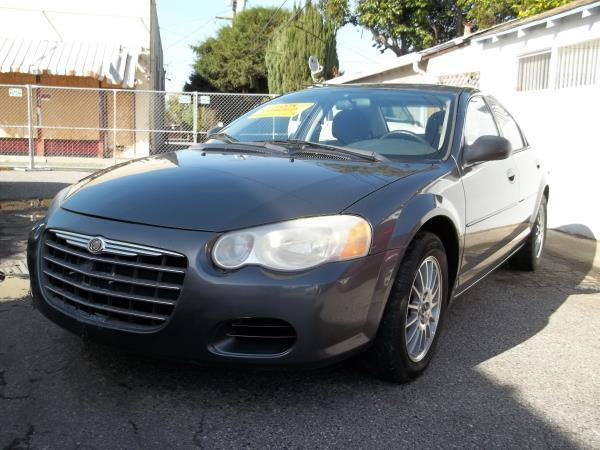 2005 CHRYSLER SEBRING greycharcoal automatic air conditioneramfm radioanti-lock brakescd pl