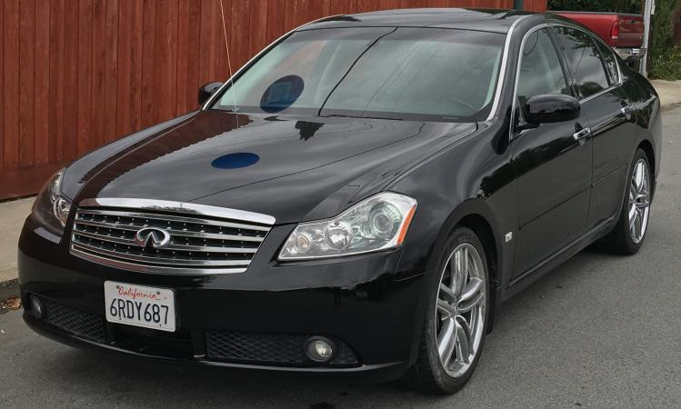 2006 INFINITI M45 blackblack automatic air conditioneralarmamfm radioanti-lock brakescd ch