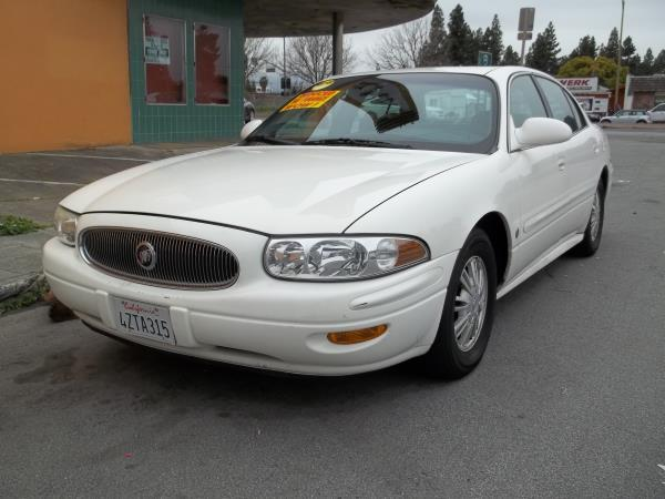 2002 BUICK LESABRE whitegray automatic air conditioneramfm radioanti-lock brakescd playerc