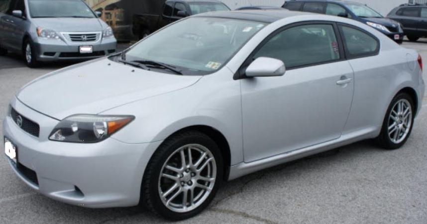 2005 SCION TC silverblack automatic air conditioneralarmamfm radioanti-lock brakescassette