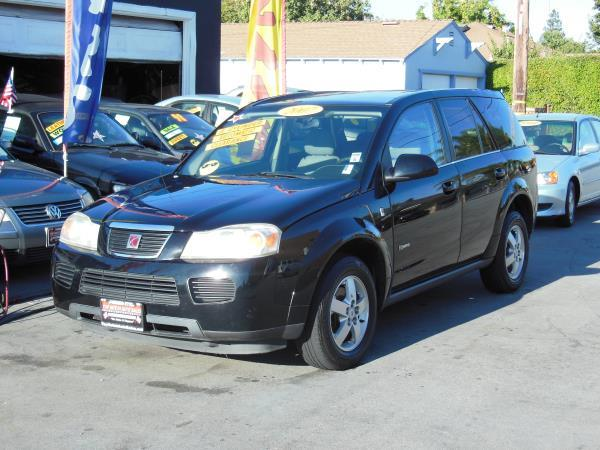 2007 SATURN VUE blackgray automatic air conditioneralarmamfm radioanti-lock brakescassette
