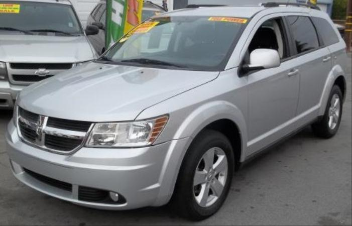2010 DODGE JOURNEY silverblack automatic air conditioneralarmamfm radioanti-lock brakescas