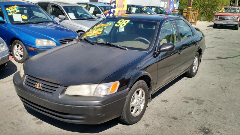 1998 TOYOTA CAMRY blacktan automatic air conditioneralarmamfm radioanti-lock brakescd play