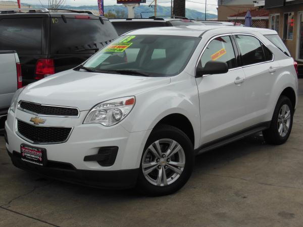 2013 CHEVROLET EQUINOX whiteblack automatic air conditioneralarmamfm radioanti-lock brakes