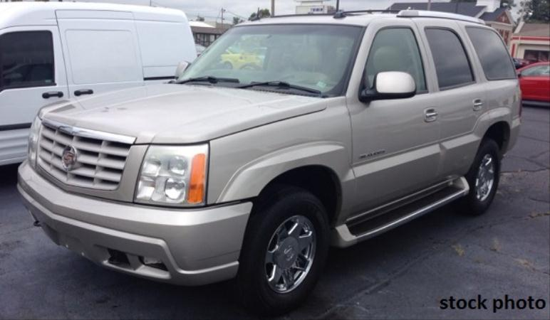 2004 CADILLAC ESCALADE grayblack automatic air conditioneralarmamfm radioanti-lock brakesc