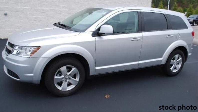 2009 DODGE JOURNEY silverblack automatic air conditioneralarmamfm radioanti-lock brakescd