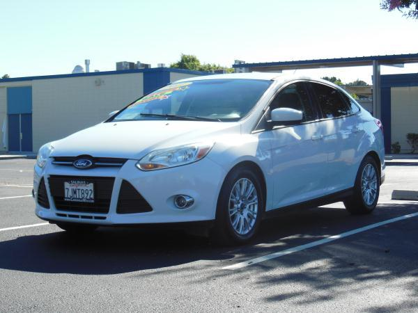2012 FORD FOCUS whiteblack automatic air conditioneralarmamfm radioanti-lock brakescd play
