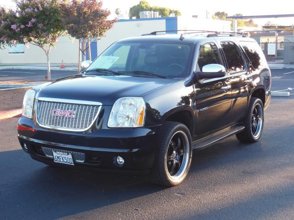 2007 GMC YUKON blackblack automatic air conditioneralarmamfm radioanti-lock brakescd chang
