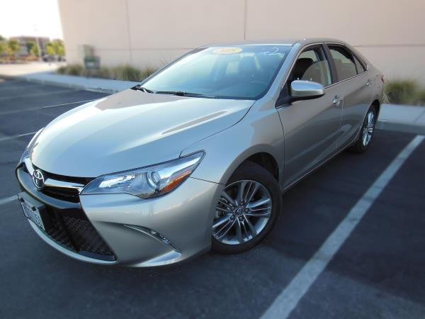2015 TOYOTA CAMRY gold automatic 26886 miles Stock 1619 VIN 4T1BF1FK1FU083957
