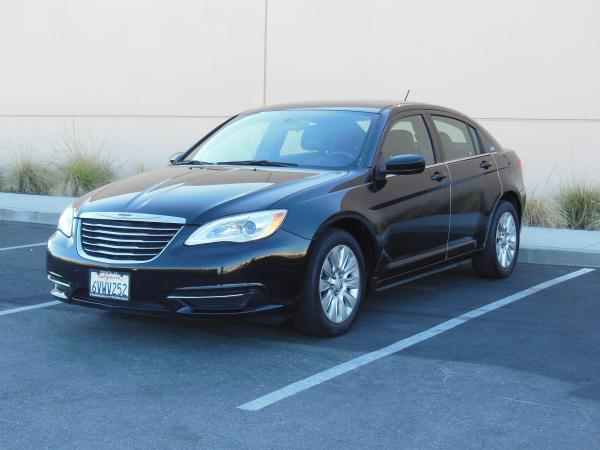 2012 CHRYSLER 200 blackblack automatic air conditioneralarmamfm radioanti-lock brakescd pl