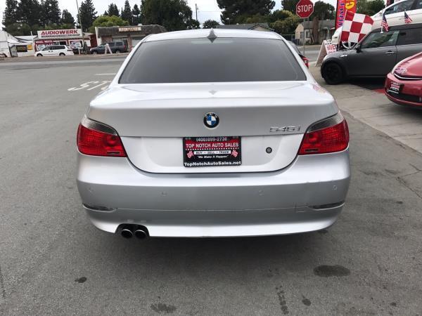 BMW 5 SERIES 545I   Top Notch Auto Sales