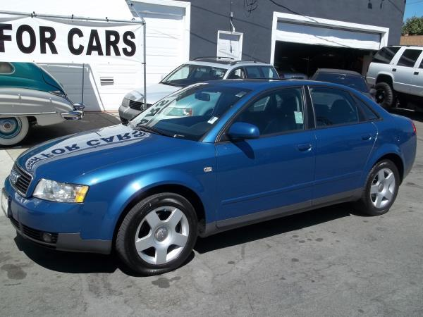 2002 AUDI A4 blueblack 5 speed manual air conditioneralarmamfm radioanti-lock brakescd pla