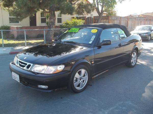 2002 SAAB 9-3 blackblack 5 speed manual air conditioneralarmamfm radioanti-lock brakescass