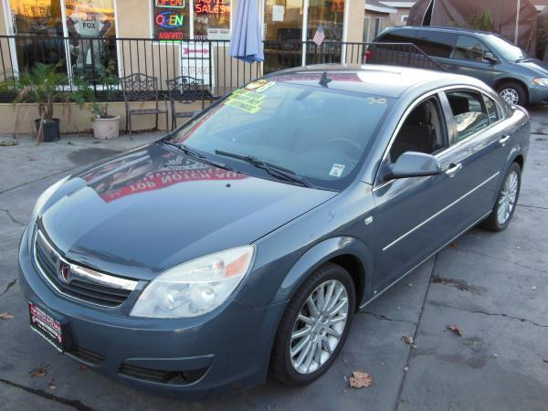 2008 SATURN AURA charcoalblack automatic air conditioneralarmamfm radioanti-lock brakescas