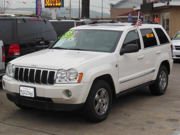 2005 JEEP GRAND CHEROKEE whiteblack automatic air conditioneralarmamfm radioanti-lock brake