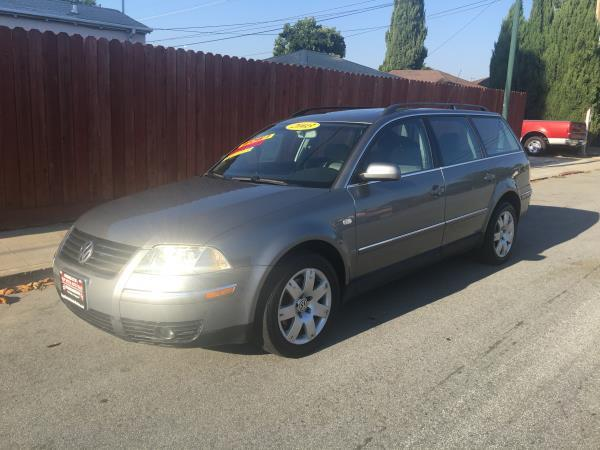 2003 VOLKSWAGEN PASSAT charcoalgray automatic air conditioneralarmamfm radioanti-lock brake