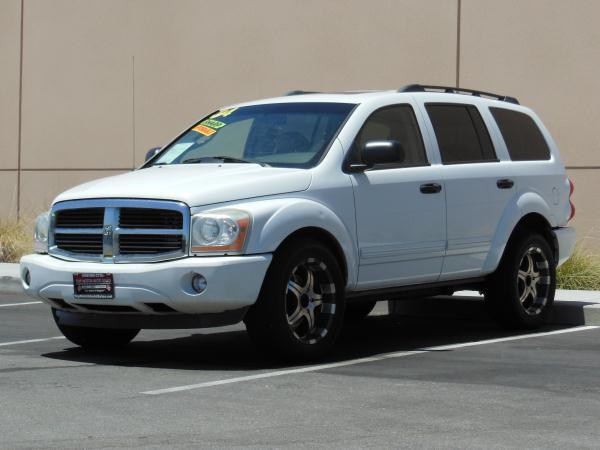2004 DODGE DURANGO whitegray automatic air conditioneralarmamfm radioanti-lock brakescasse