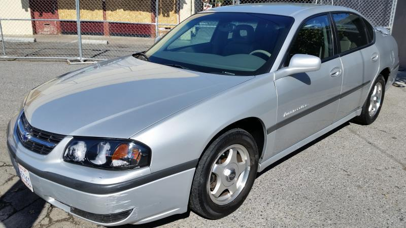 2001 CHEVROLET IMPALA silvergray automatic air conditioneralarmamfm radioanti-lock brakesc