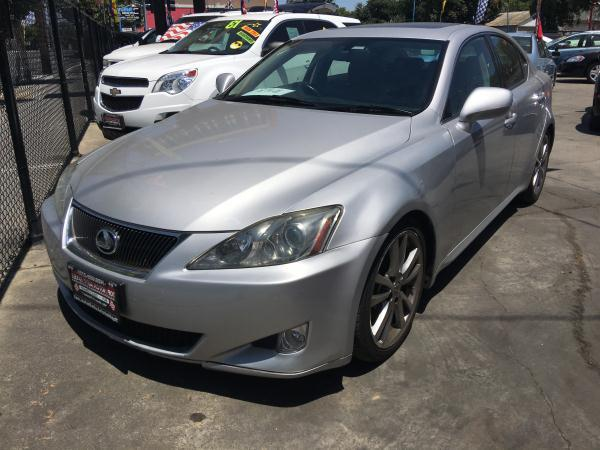 2008 LEXUS IS 250 silverblack automatic air conditioneralarmamfm radioanti-lock brakescd c