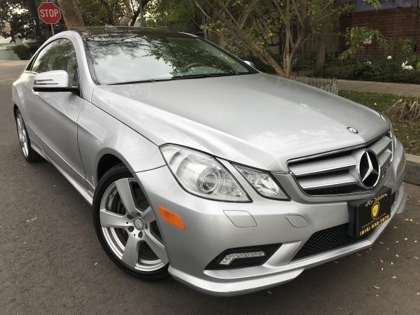 MERCEDES-BENZ E550 COUPE E550