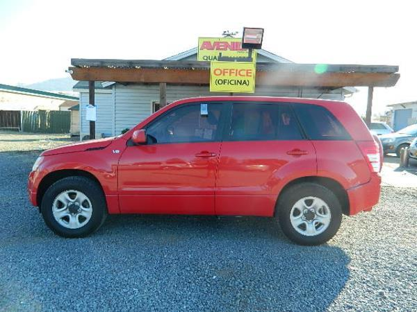 2008 SUZUKI GRAND VITARA red 81863 miles Stock 1009 VIN JS3TE941784101855