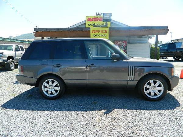 2006 LAND ROVER RANGE ROVER dark gray 5 speed automatic 112579 miles Stock 1013 VIN SALME154