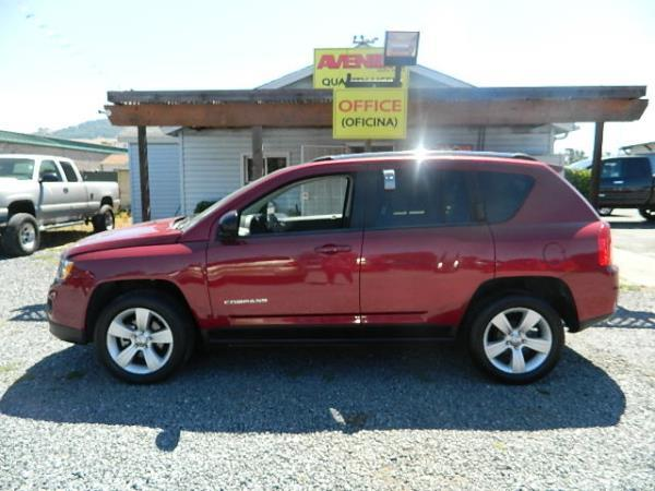 2011 JEEP COMPASS red 33539 miles Stock 1014 VIN 1J4NT1FA8BD155565