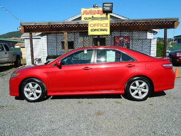2009 TOYOTA CAMRY red 107699 miles Stock 1028 VIN 4T1BK46K59U084949