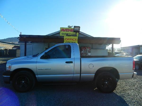 2006 DODGE RAM PICKUP silver 58995 miles Stock 1040 VIN 1D7HA16N66J157386