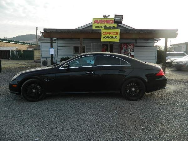 2006 MERCEDES CLS-CLASS black 5 speed automatic 125442 miles Stock 1045 VIN WDDDJ76X16A04824