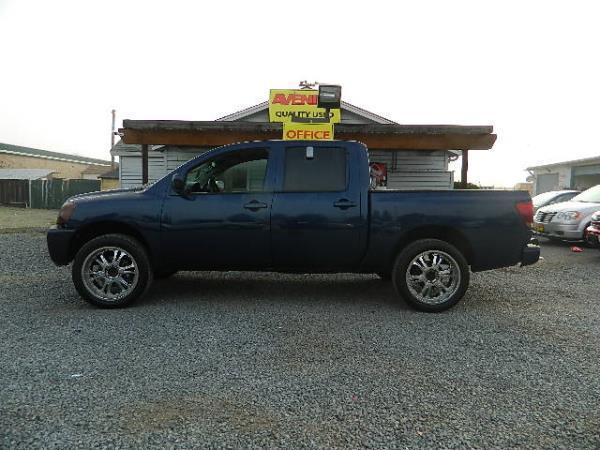 2008 NISSAN TITAN blue auto 76815 miles Stock 1046 VIN 1N6AA07DX8N322568