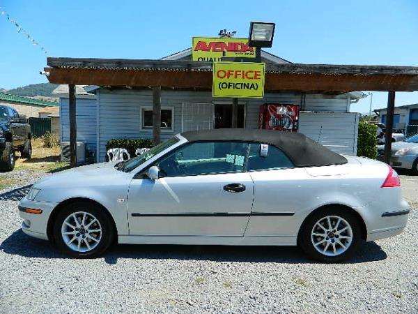 2005 SAAB 9-3 silversilver 5 speed automatic 109310 miles Stock 1048 VIN YS3FD79Y356000295