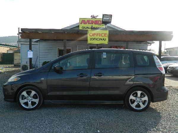 2006 MAZDA MAZDA5 dark gray 81393 miles Stock 1052 VIN JM1CR29L360128219