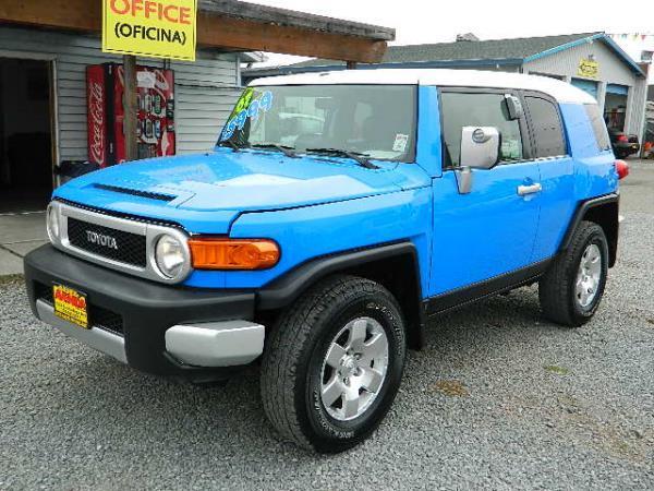 2007 TOYOTA FJ CRUISER blue auto 161927 miles Stock 1053 VIN JTEBU11F870020346