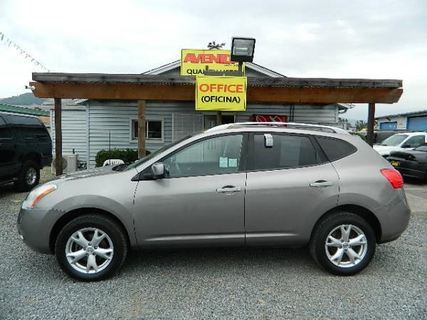 2009 NISSAN ROGUE gray automatic 144082 miles Stock 1055 VIN JN8AS58V19W444675