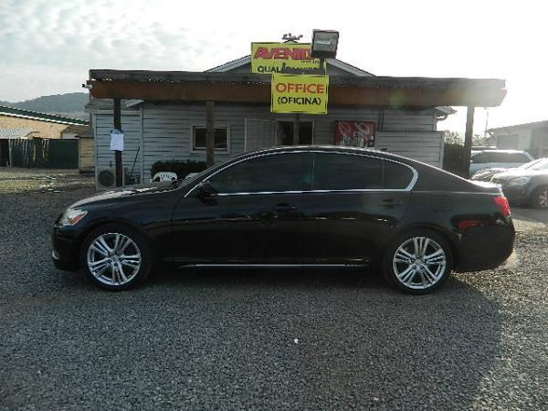2007 LEXUS GS450H blackblack automatic 149605 miles Stock 1064 VIN JTHBC96S075006860